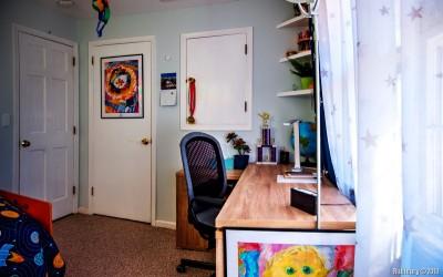 Aaron's room.