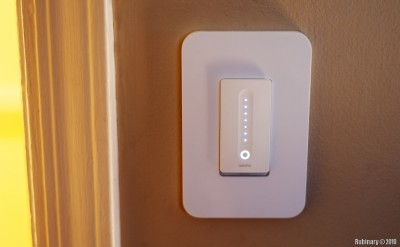 Wemo Dimmer Switch.