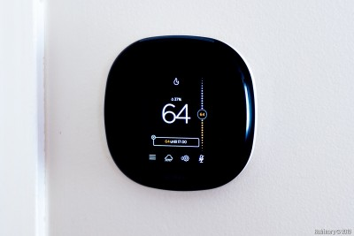 Ecobee4 smart thermostat.