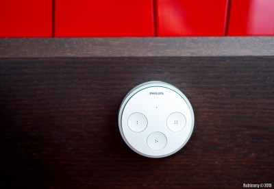 Philips Hue Tap switch.