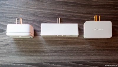 Eve Energy, Wemo Mini, iDevices smart plugs.