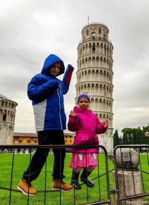 Tower of Pisa.