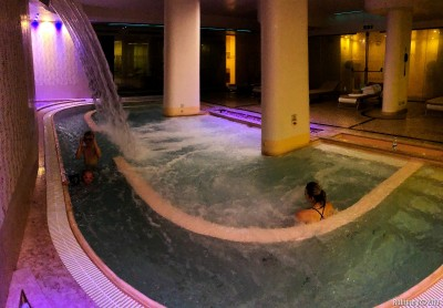 Massive hot tub.
