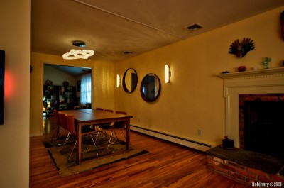 Dining room. Looking at the opposite wall.