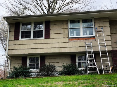 Most of the house had new windows, but bedrooms didn't. So we replaced all in all six of them. That was not cheap at all.