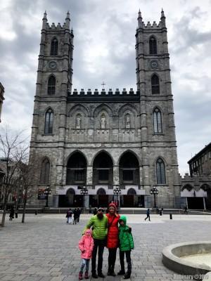 Notre Dame de Montreal.