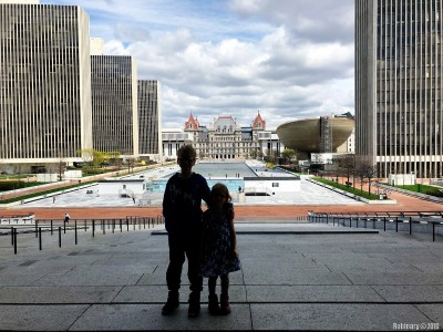 Empire State Plaza.