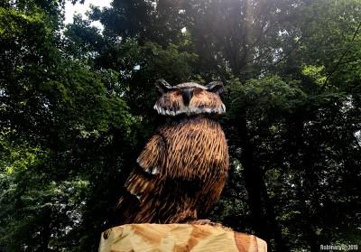 Wooden owl.