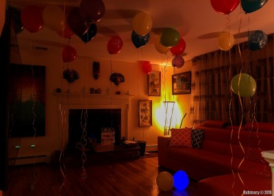 Balloon tradition.