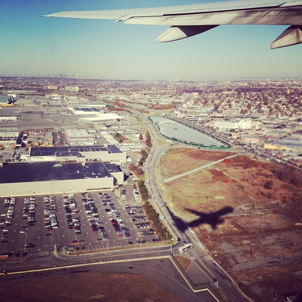 Off and Away! (via Instagram)