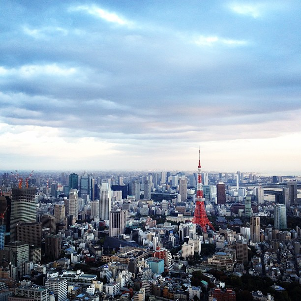 Roppongi Hill Sky Deck (via Instagram)