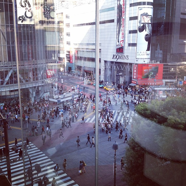 Shibuya (via Instagram)