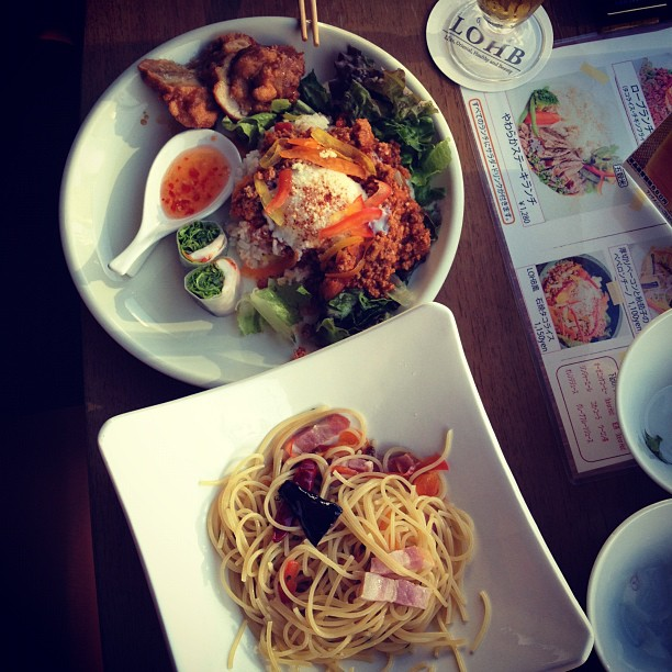 Lunch (via Instagram)
