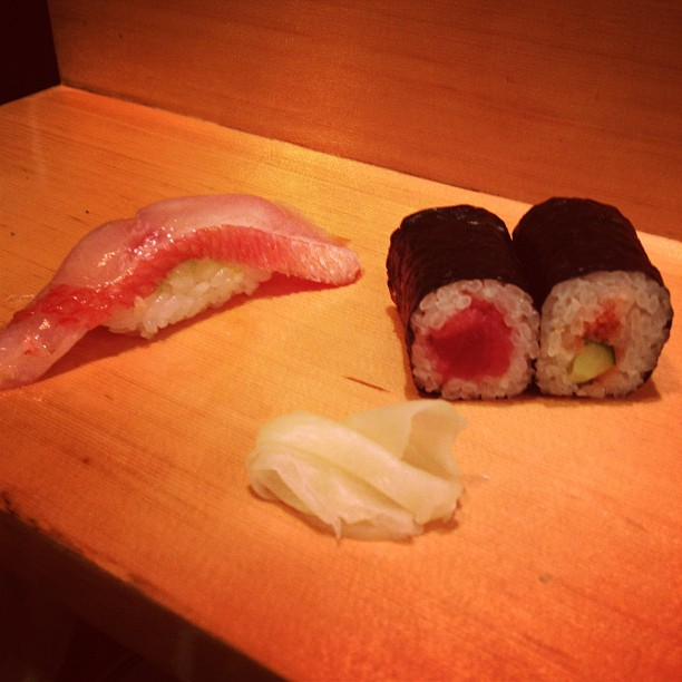 At Sushi Dai (via Instagram)