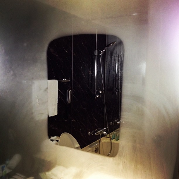 Mirror Heater (via Instagram)