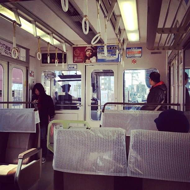 Train to Nara (via Instagram)