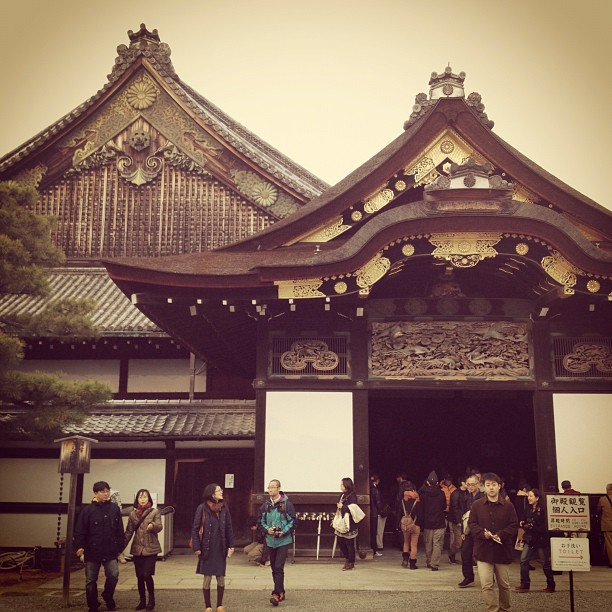 Nijo Castle (via Instagram)