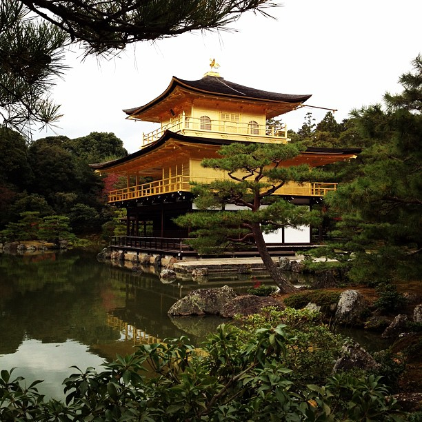 Golden Pavillion (via Instagram)