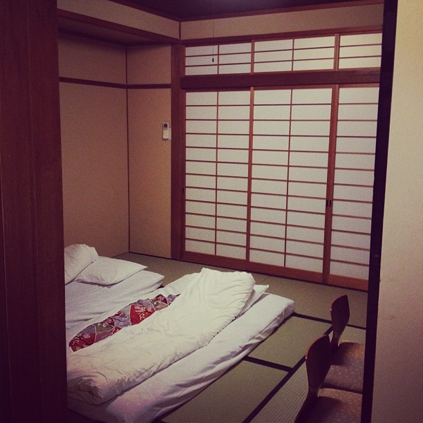 Ryokan Room (via Instagram)