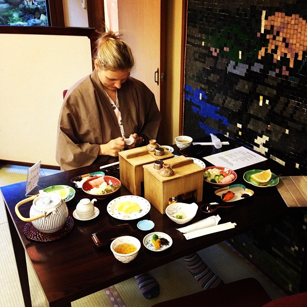 Traditional Japanese Breakfast (via Instagram)