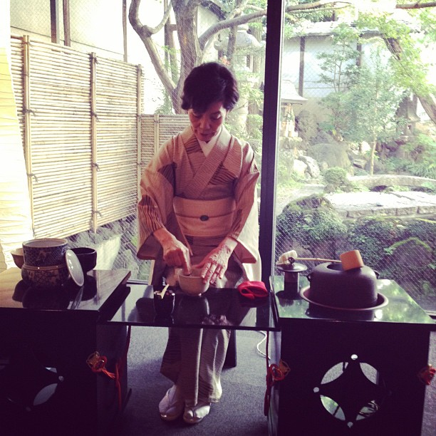 Tea Ceremony (via Instagram)