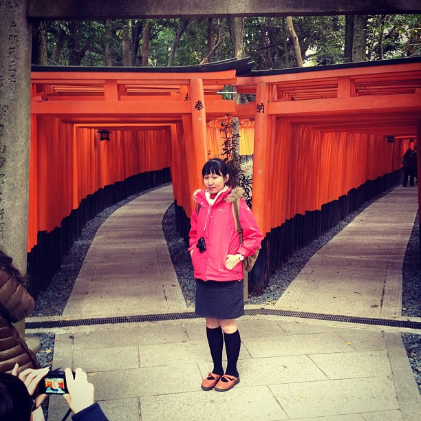 Torii Gates (via Instagram)