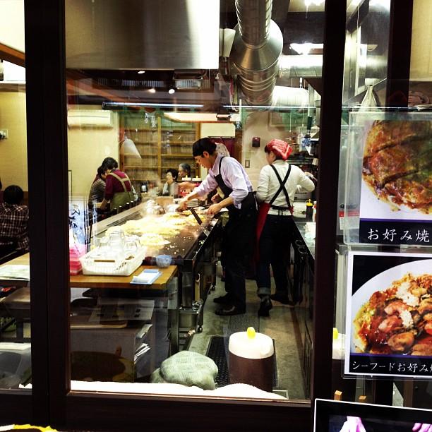 Okonomiyaki (via Instagram)