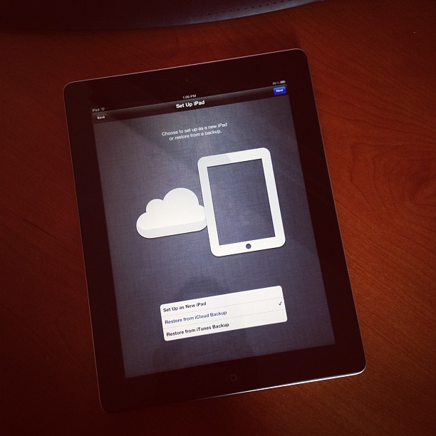 iPad 3 (via Instagram)