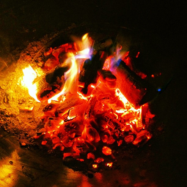 Fire (via Instagram)