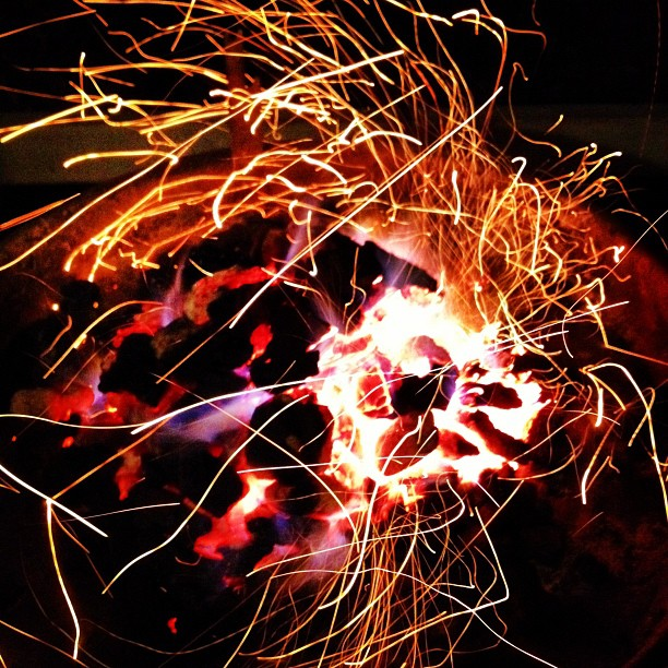 Fire Sparks (via Instagram)