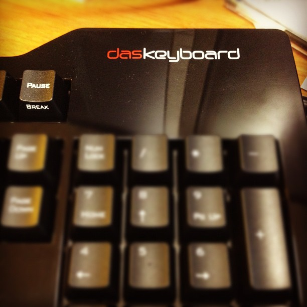 Das Keyboard (via Instagram)