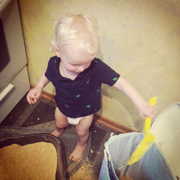 Little Helper (via Instagram)
