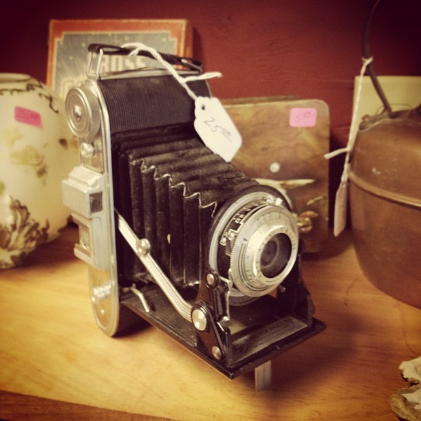 Antique Camera (via Instagram)