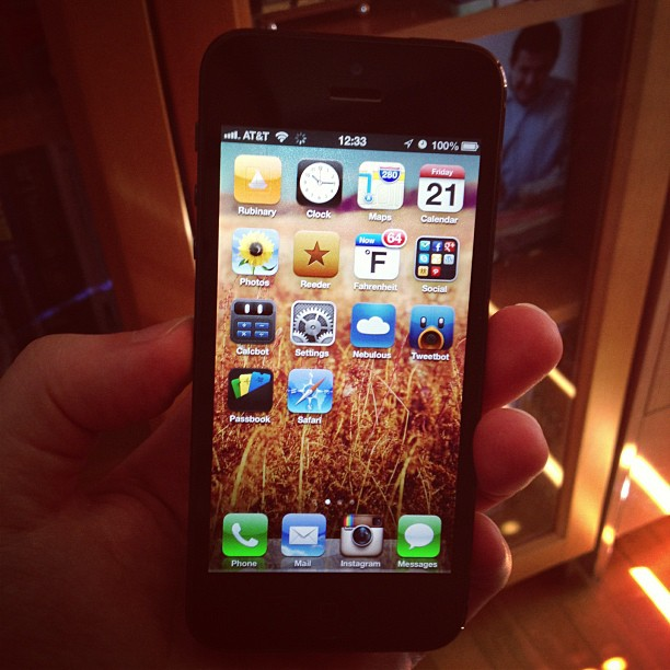 iPhone 5 (via Instagram)