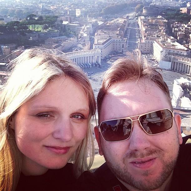 On Top of Cupola (via Instagram)