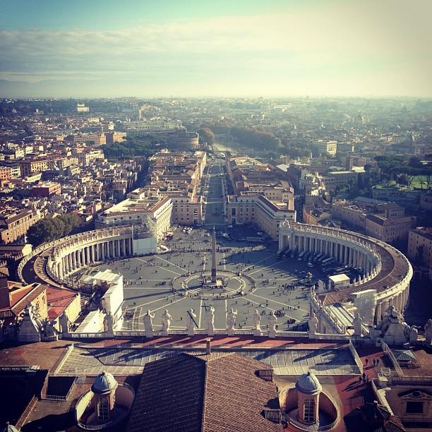 Vatican (via Instagram)