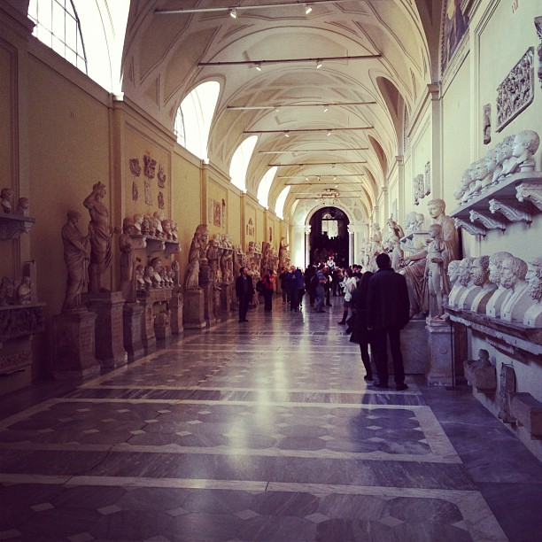 Vatican Museums (via Instagram)