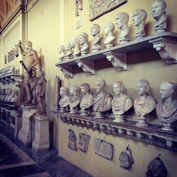 Vatican Museums (via Instagram)