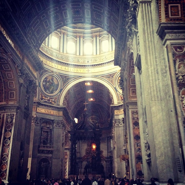 St. Peter Basilicas (via Instagram)