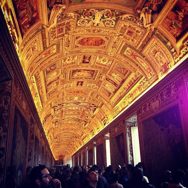 Galleria delle Carte Geografiche (via Instagram)