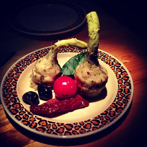 Appetizer at ZaZa (via Instagram)