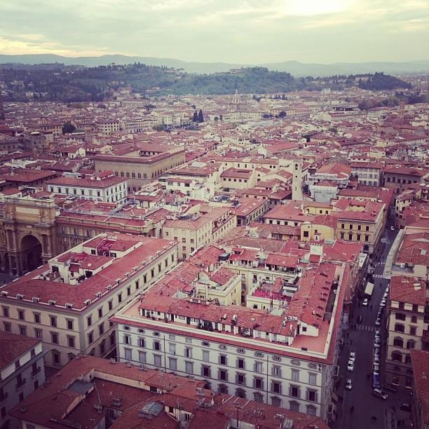 Florence at 414 Steps Up (via Instagram)