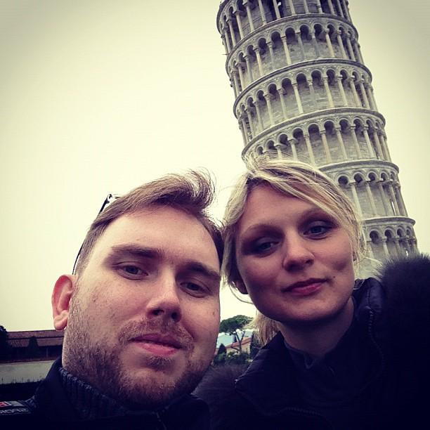 Tower of Pisa (via Instagram)