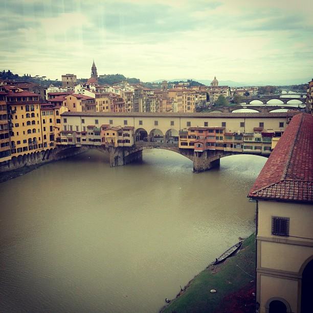 View from Uffizi (via Instagram)