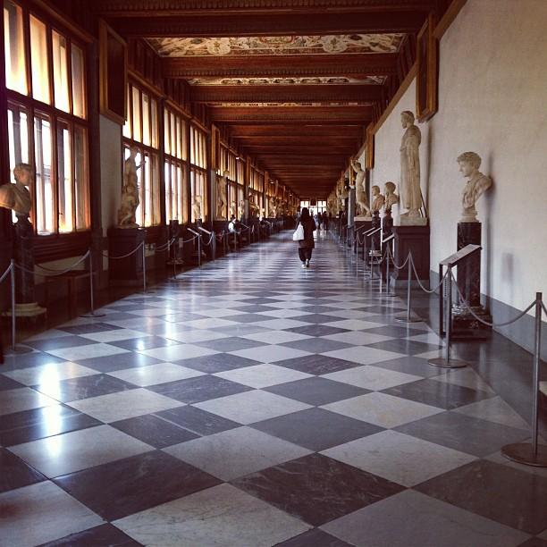 Uffizi Gallery (via Instagram)