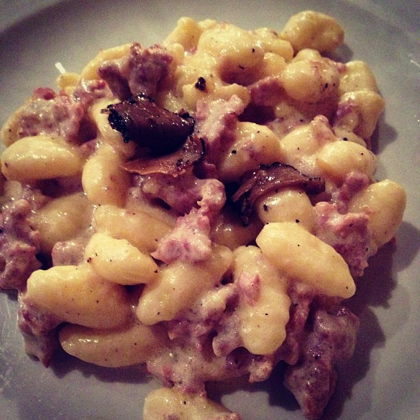 Gnocchi with Truffle (via Instagram)