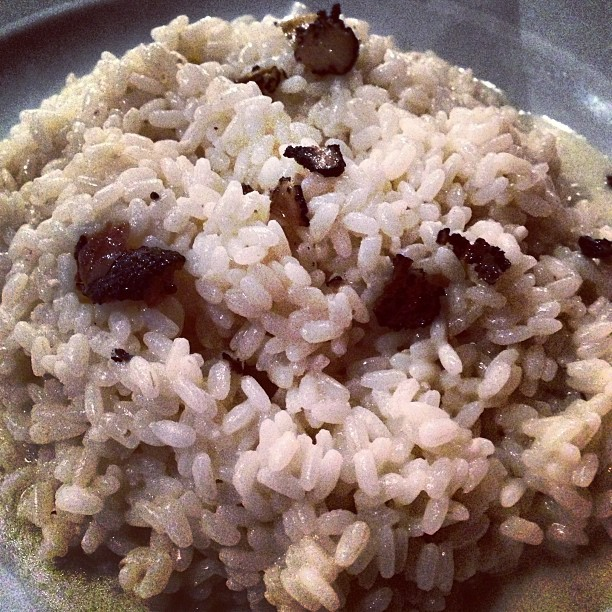 Risotto with Truffle (via Instagram)