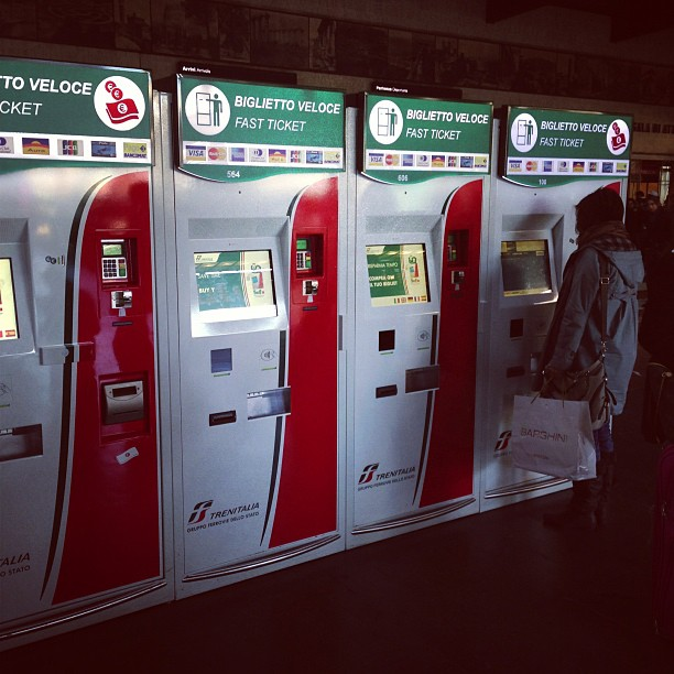 Ticket Vending Machines (via Instagram)
