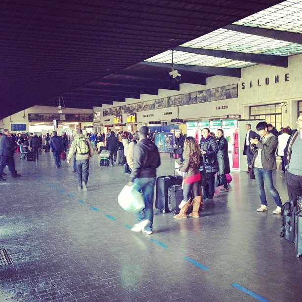 Florence Central Train Station (via Instagram)