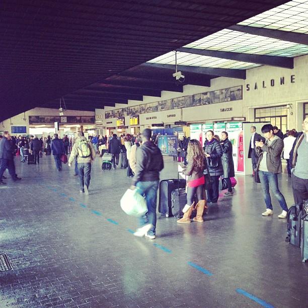 Florence Central Train Station (via Instagram)